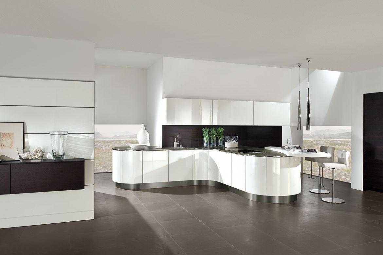 av 4030 wei hochglanz lack av 5080 eiche terra furnier vorschau k chen von tech art. Black Bedroom Furniture Sets. Home Design Ideas