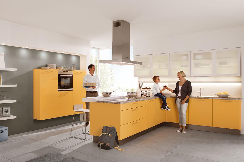 uno goldgelb vorschau k chen von tech art k chen design gro heubach miltenberg. Black Bedroom Furniture Sets. Home Design Ideas