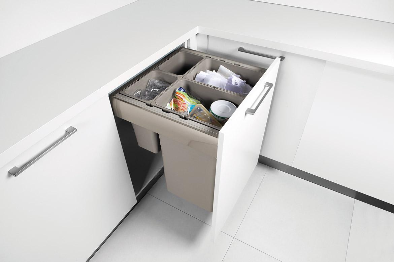 Organisation Unterschränke – Küchen von Tech-Art Küchen-Design ...